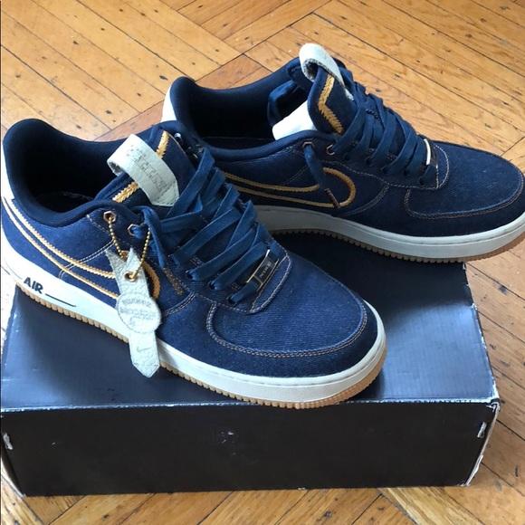 Nike Air Force 1 Denim Low Premium sz 8 mens